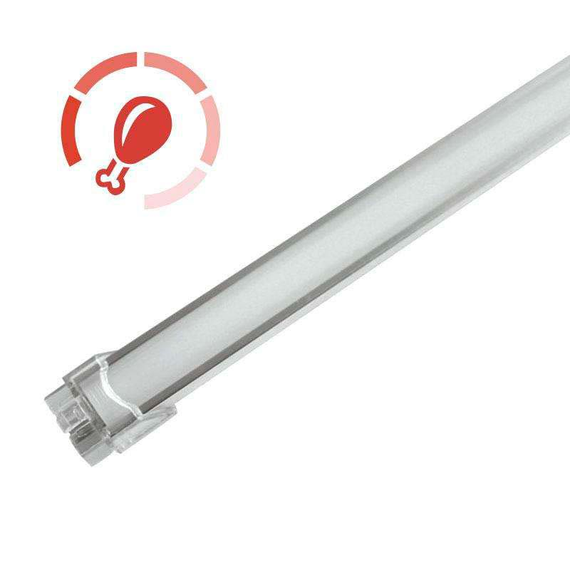 Barra LED Profresh, 18W, 116cm, Carnes, Rosa